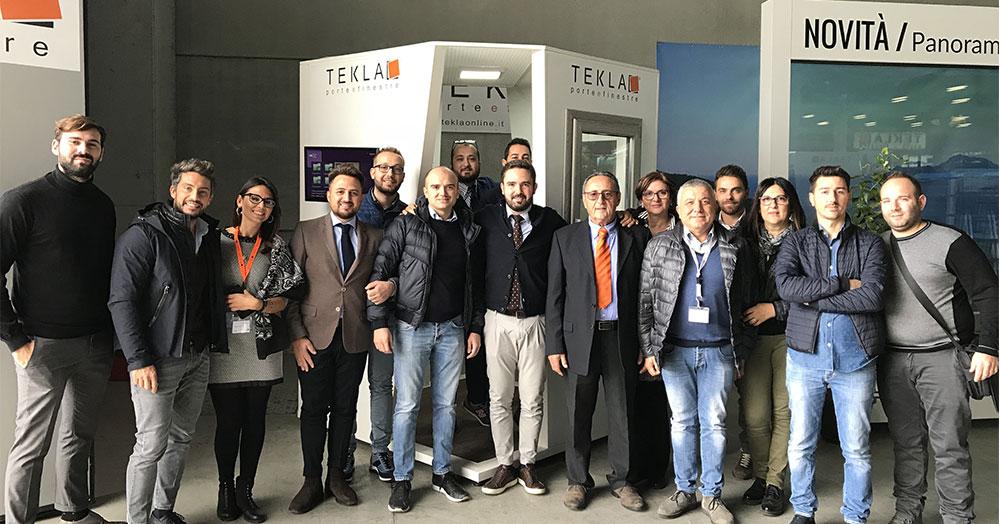 Meeting Tekla Partner: due giorni dedicati ai rivenditori del Sud Italia