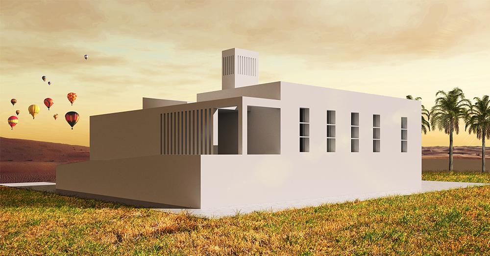 La casa del futuro ha finestre Tekla