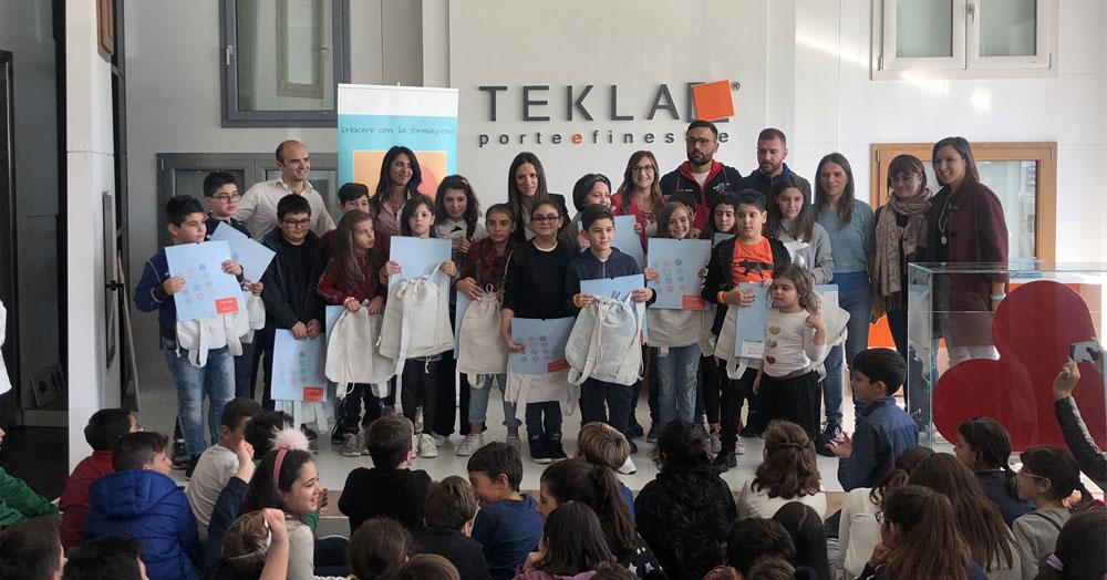 Calendario Tekla: oltre 200 bambini per credere insieme nel futuro