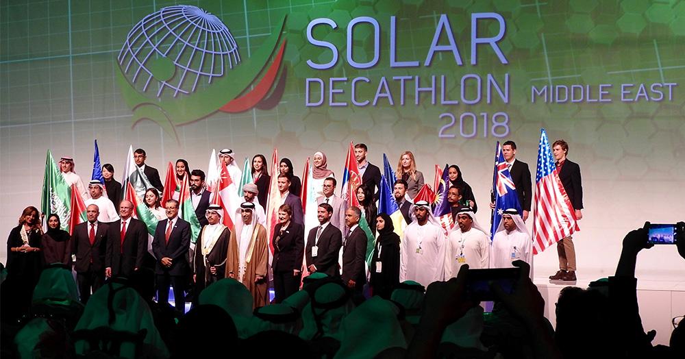Con La Sapienza andiamo a Dubai per il Solar Decathlon Middle East 2018