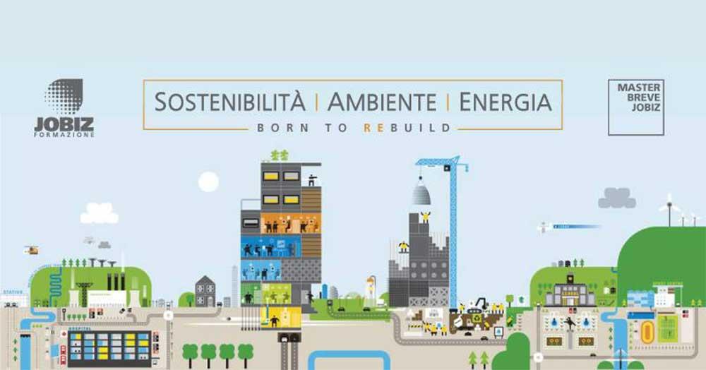 Master Jobiz in ambiente energia e sostenibilità